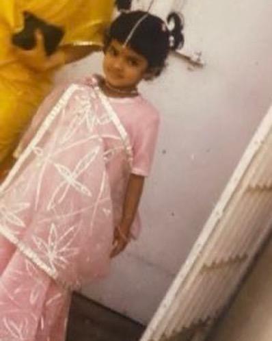 priyanka chopra childhood photo