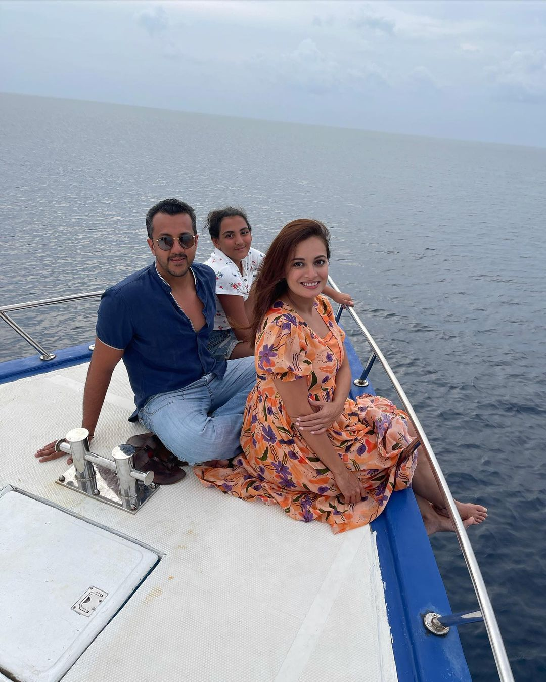 Dia Mirza Family