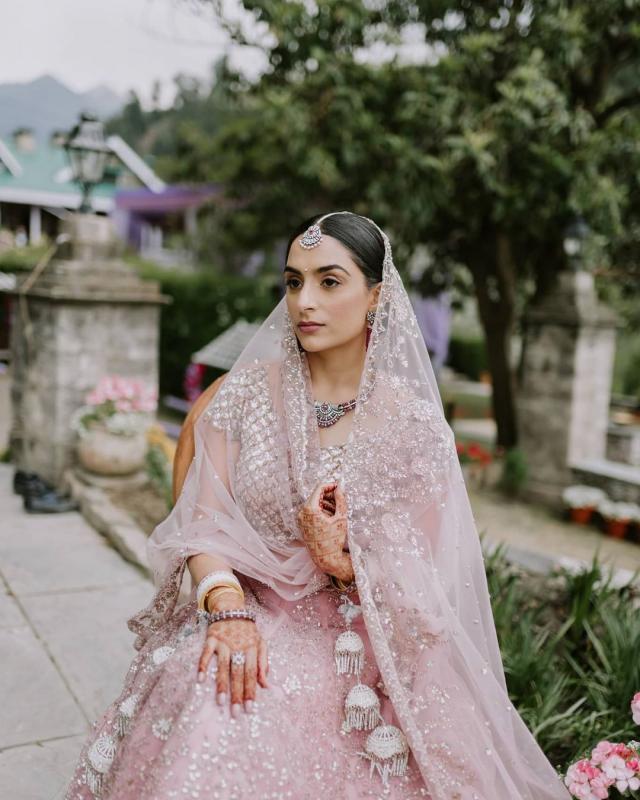 punjabi bridal photoshot
