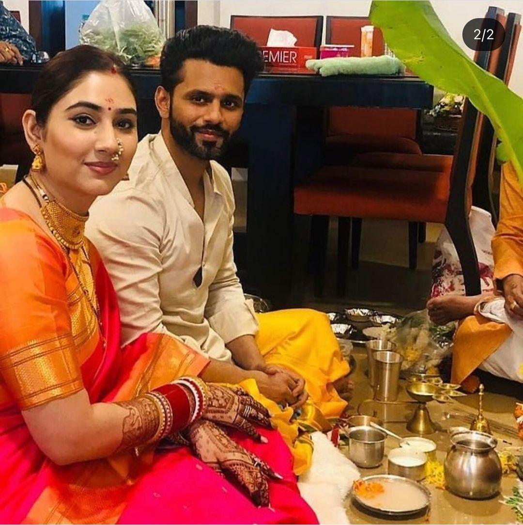 Rahul Vaidya And Disha Parmar after Marriage