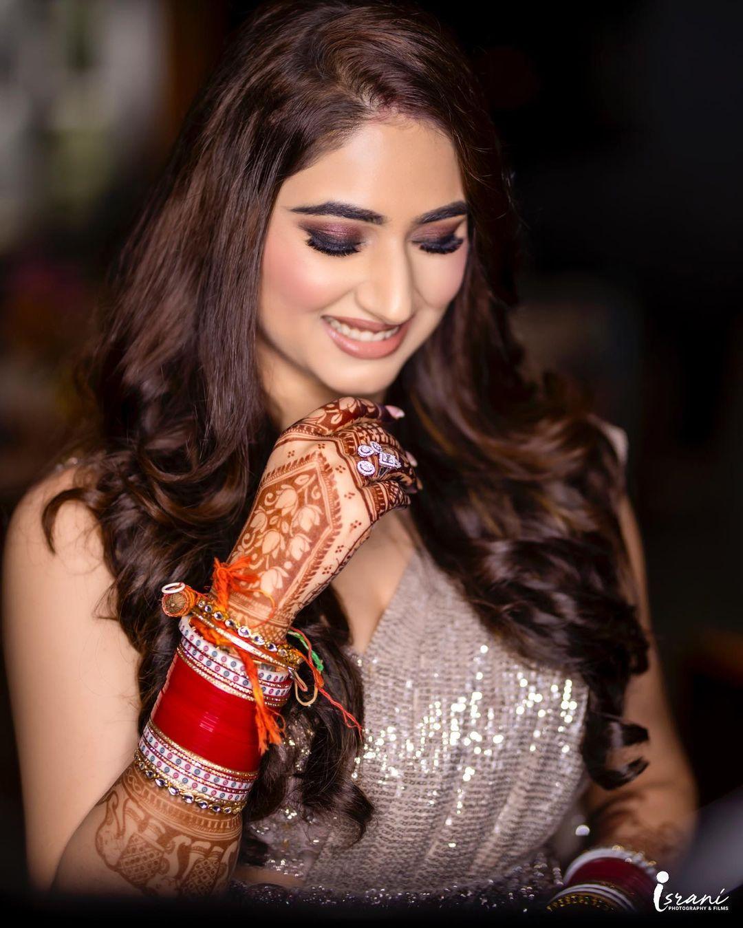 Disha Parmar Engagement Ring Photo