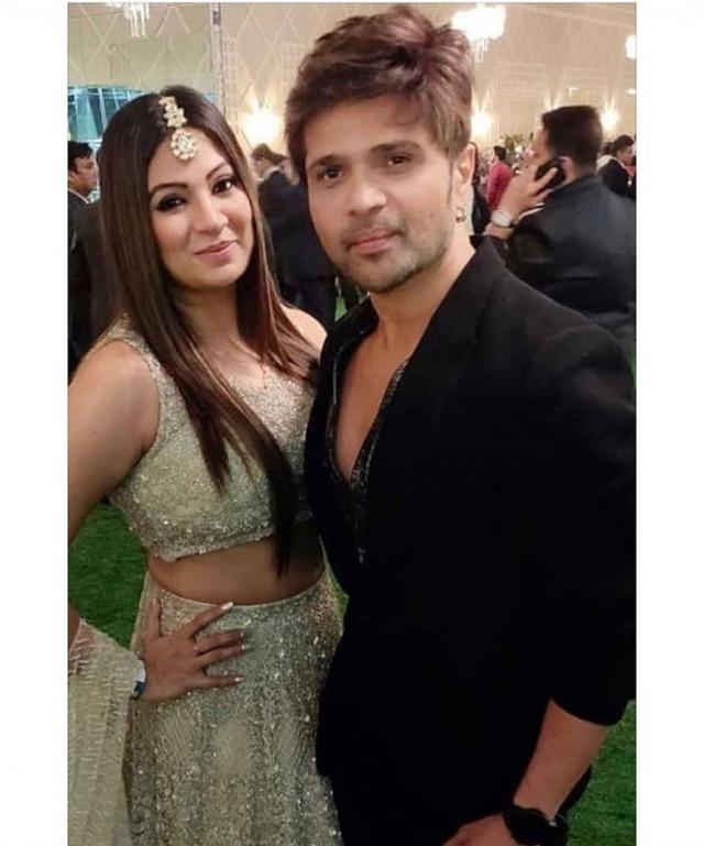 Himesh Reshammiya With His Wife Soniya Kapoor