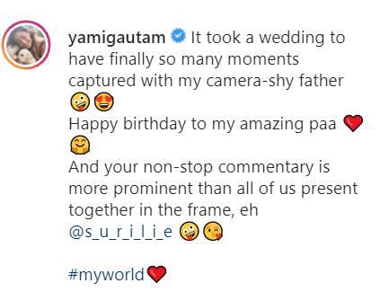 Yami Gautam Post