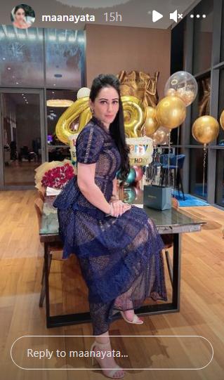 maanayata dutt birthday