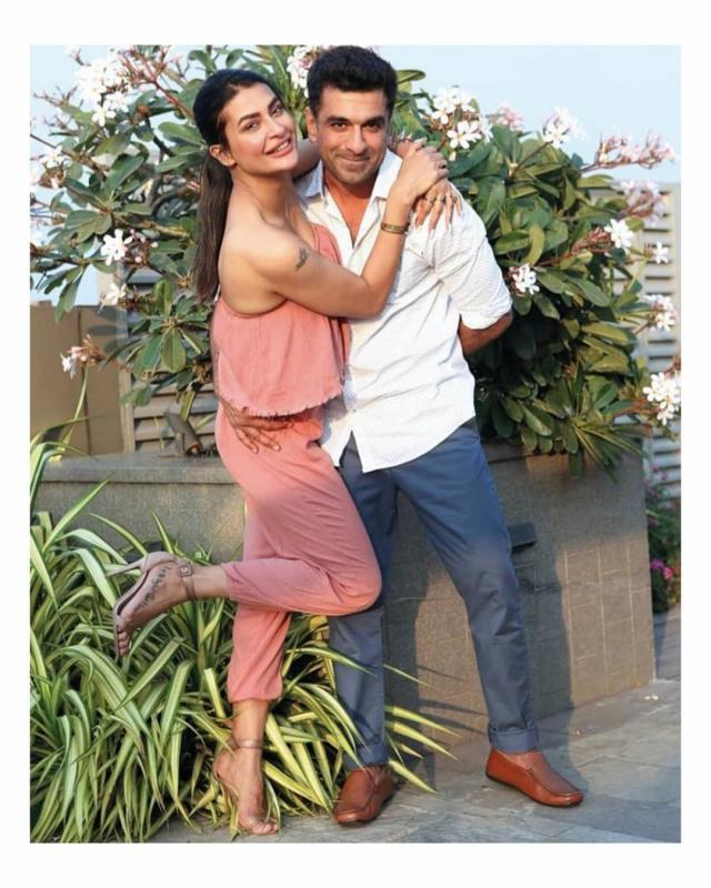 Eijaz Khan With GF Pavitra Punia