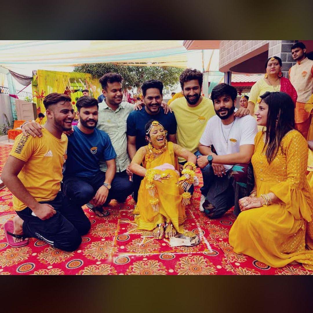 Vicky Kaushal Attends Cousin Wedding Ceremony