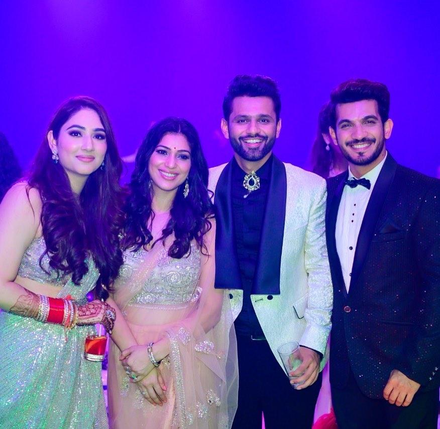 disha and rahul sangeet