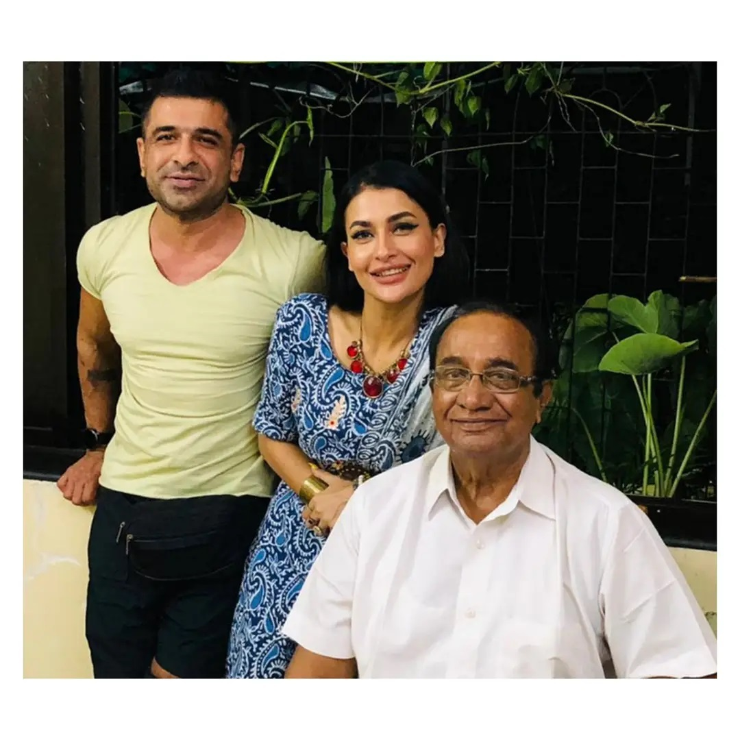 Pavitra Punia And Eijaz Khan With Father