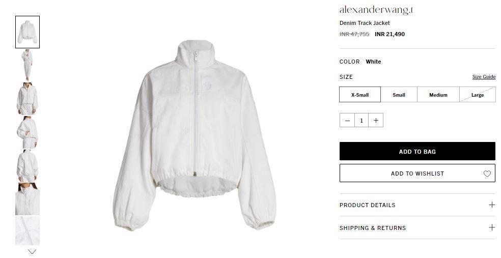 anushka sharma outfit price