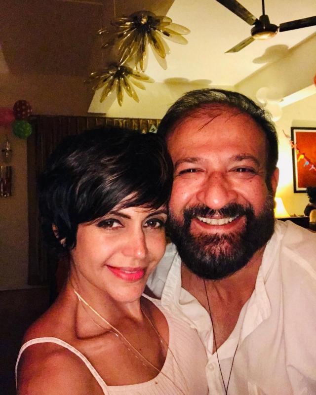 Mandira Bedi With Husband Raj