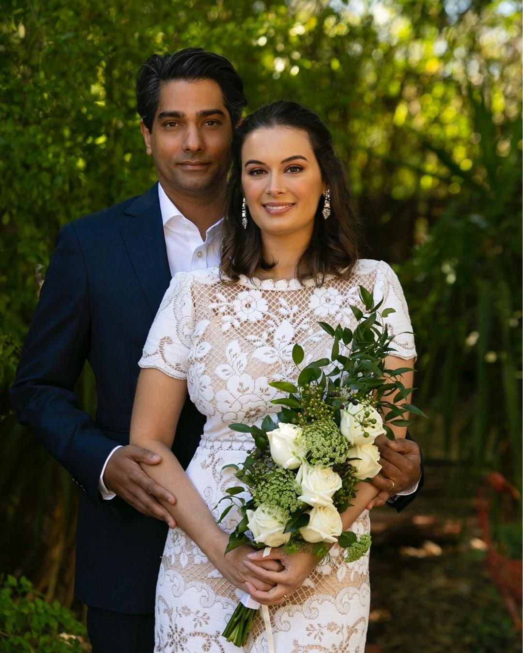 evelyn sharma wedding photo