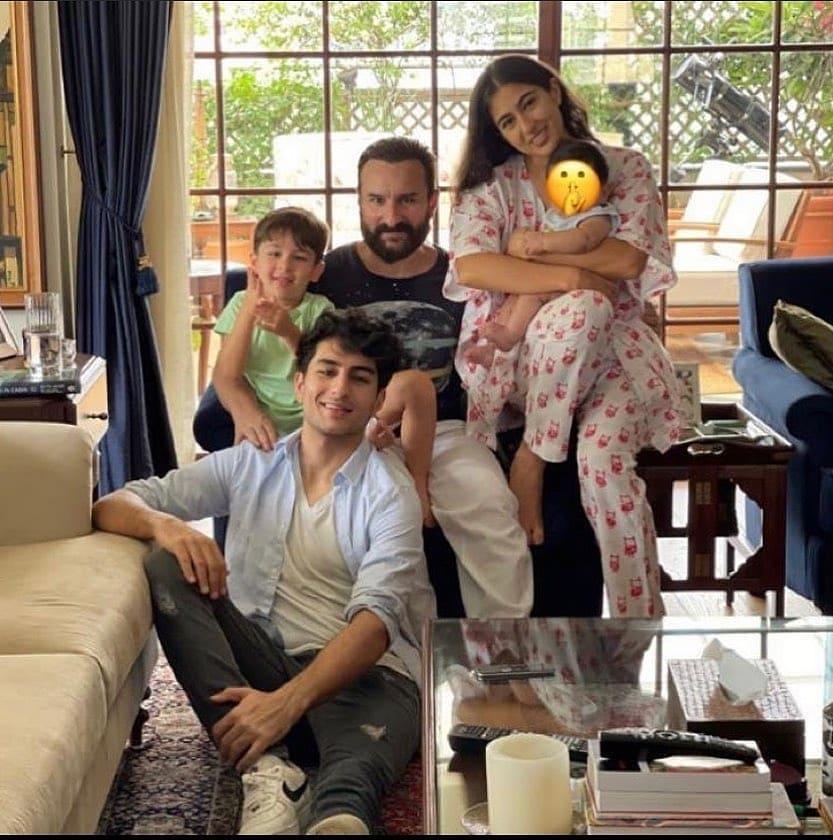 Saif Ali Khan With His Children