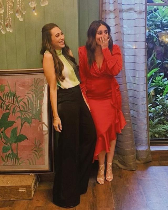 Kareena Kapoor Khan With Sister