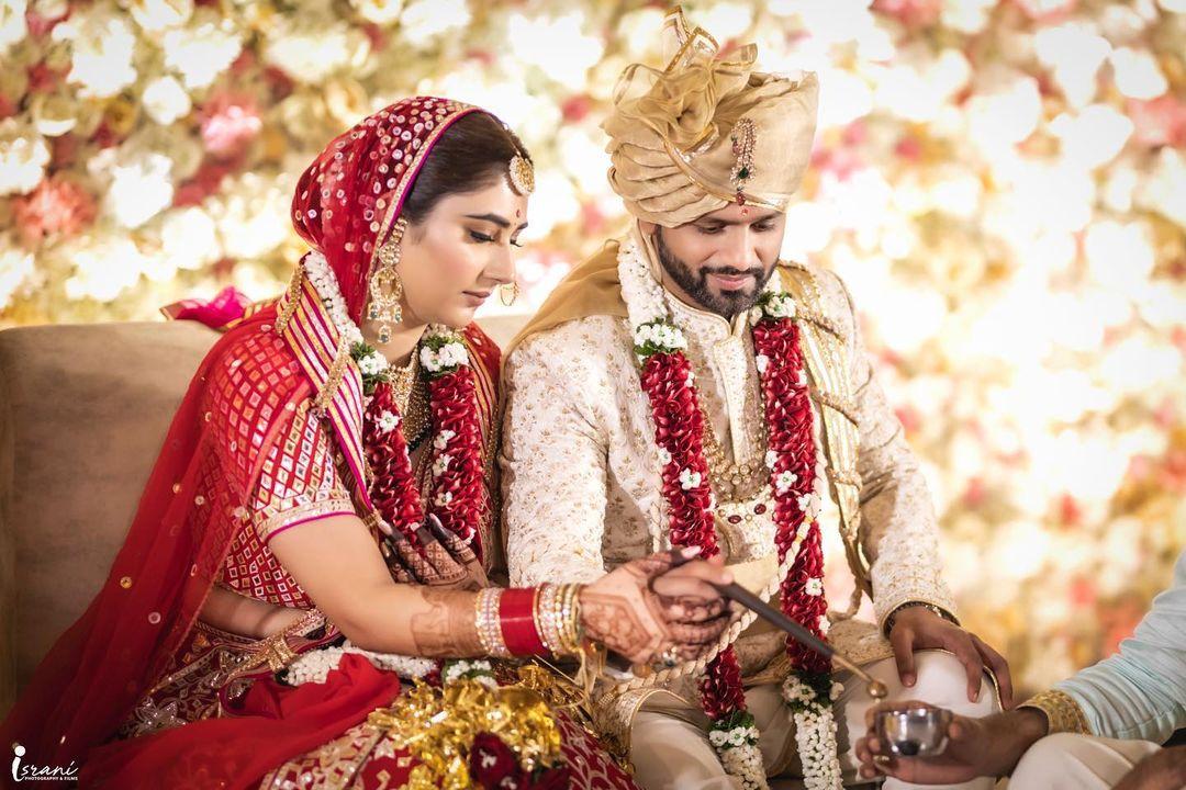 disha parmar wedding photos