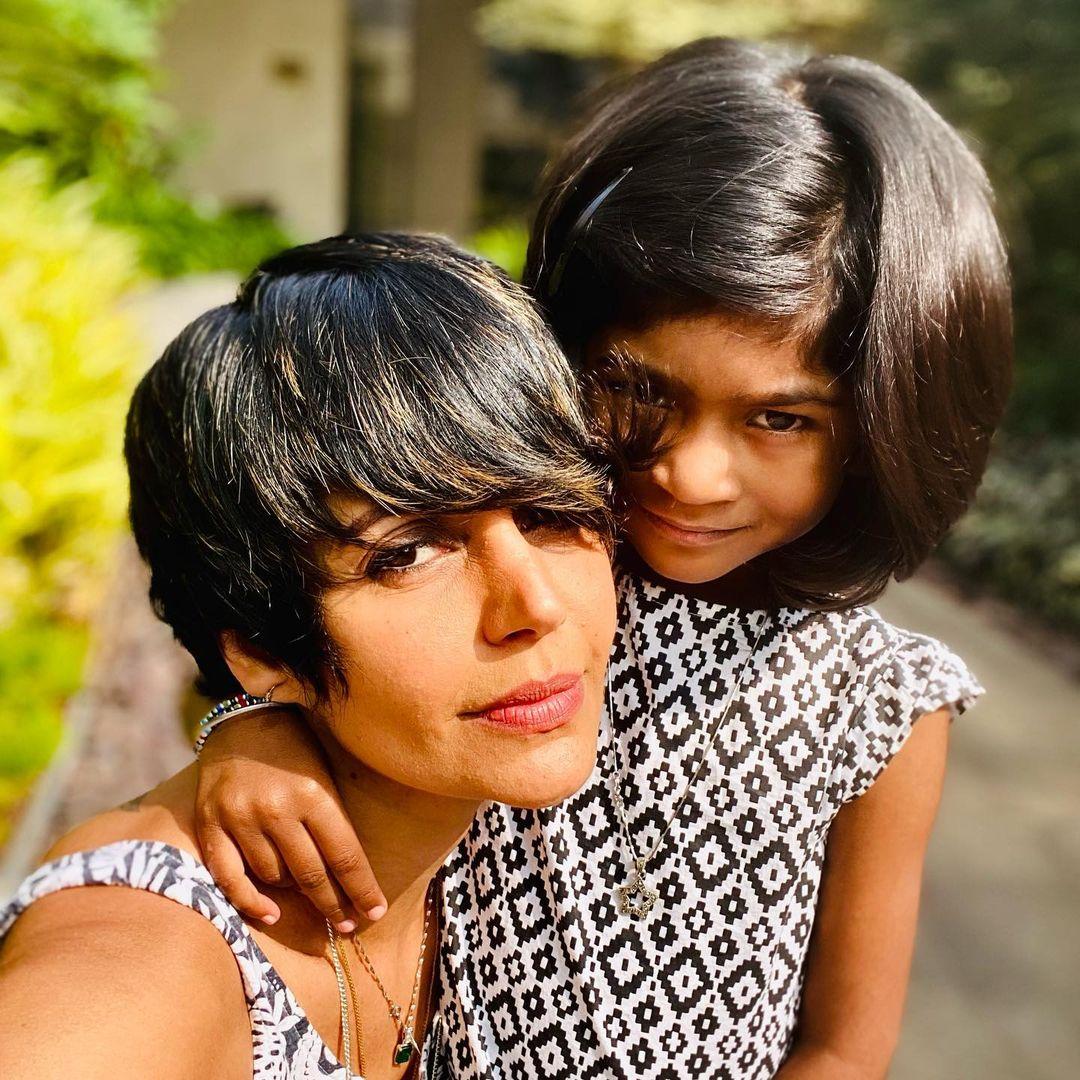 Mandira Bedi With Daughter Tara