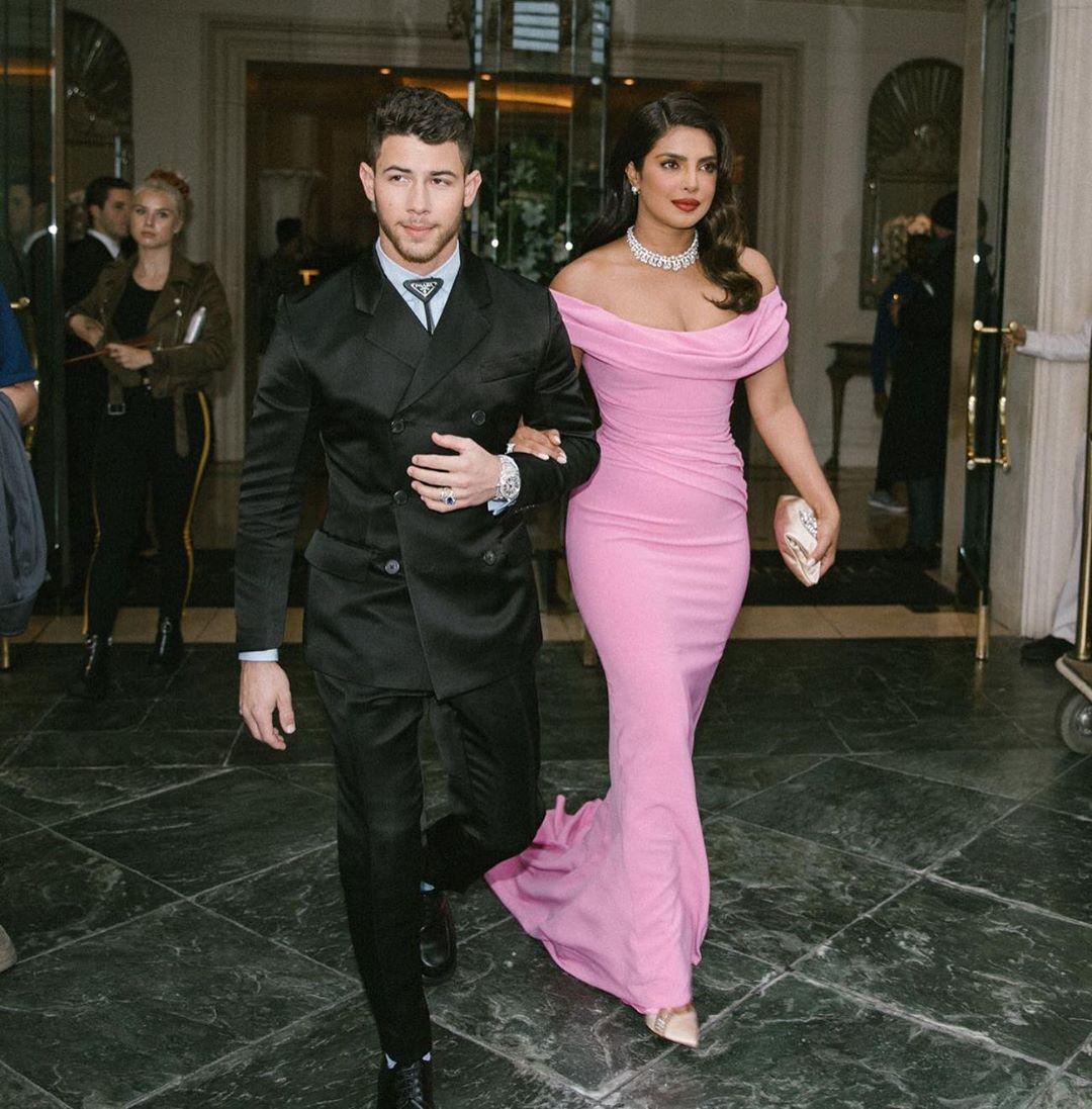 Priyanka Chopra With Hubby Nick Jonas