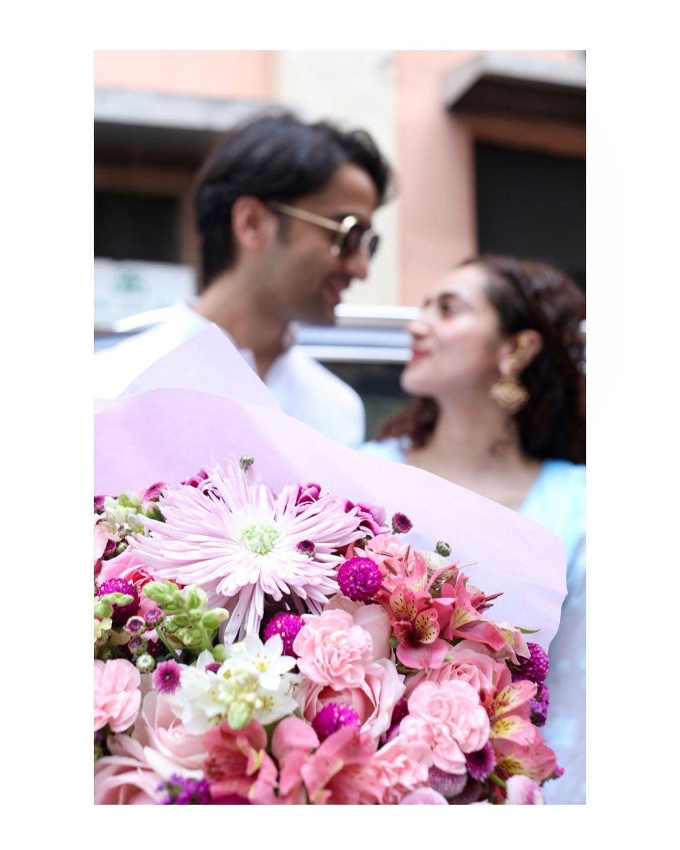 Shaheer Sheikh With Wife Ruchikaa Kapoor