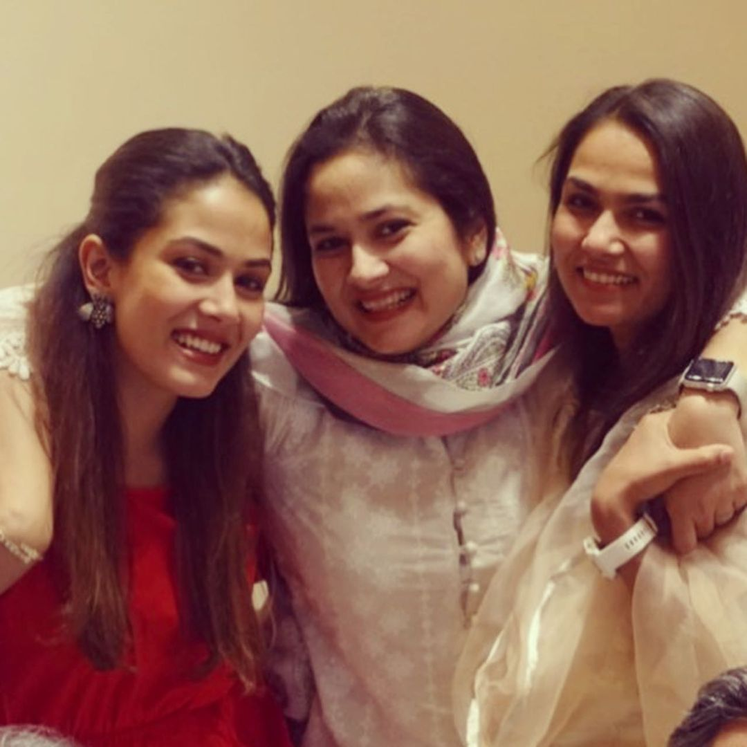Mira Rajput With Her Sisters