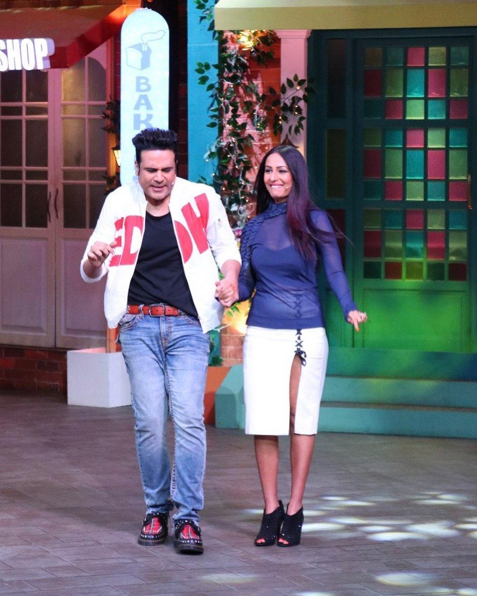 Krushna Abhishek And kashmira shah