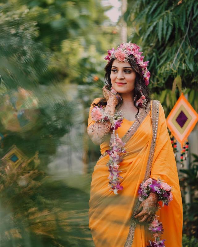 haldi ceremony photos