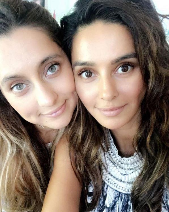 Shibani And Anusha Dandekar