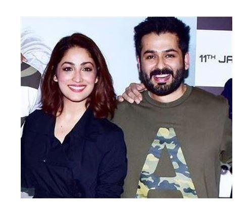 Yami Gautam With Hubby Aditya Dhar
