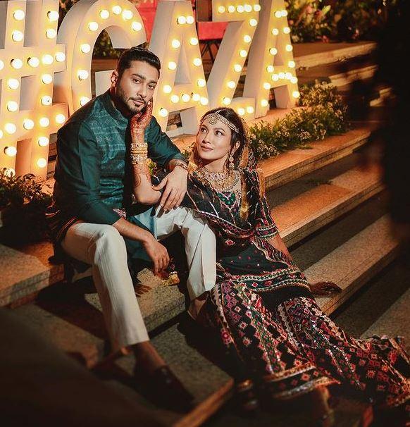 Gauhar Khan With Hubby Zaid Darbar