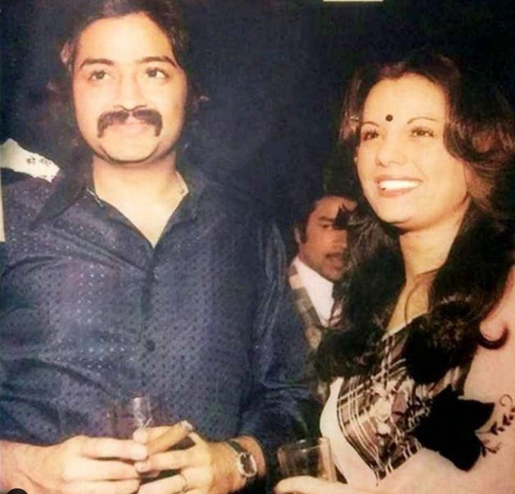 Mumtaz With Hubby Mayur Madhvani
