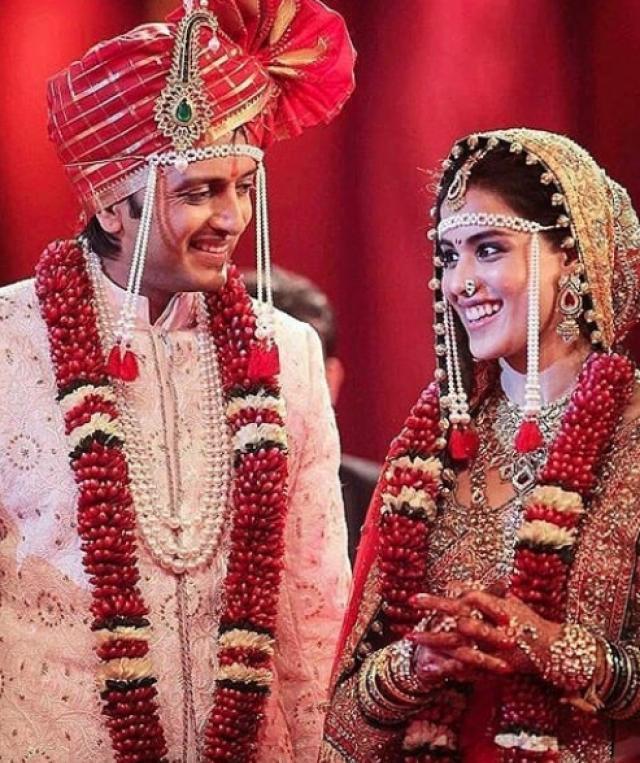 Riteish And Genelia Deshmukh Wedding Photo