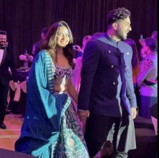 jasly in rahul vaidya wedding