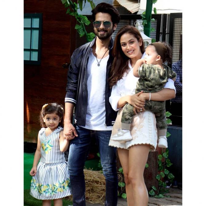 mira kapoor family