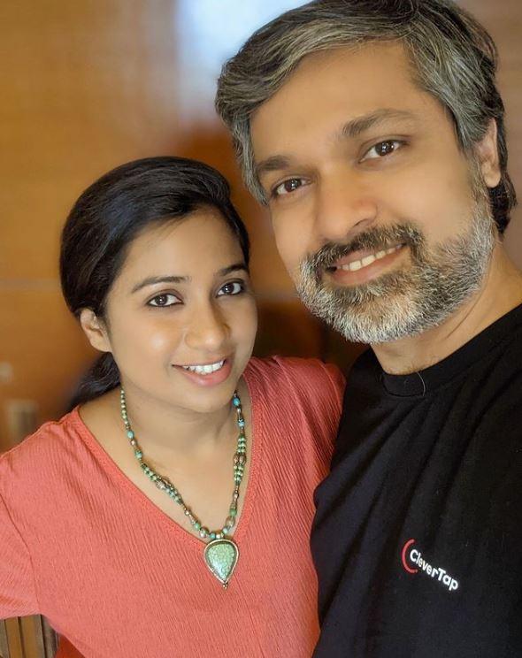 Shreya Ghoshal With Husband