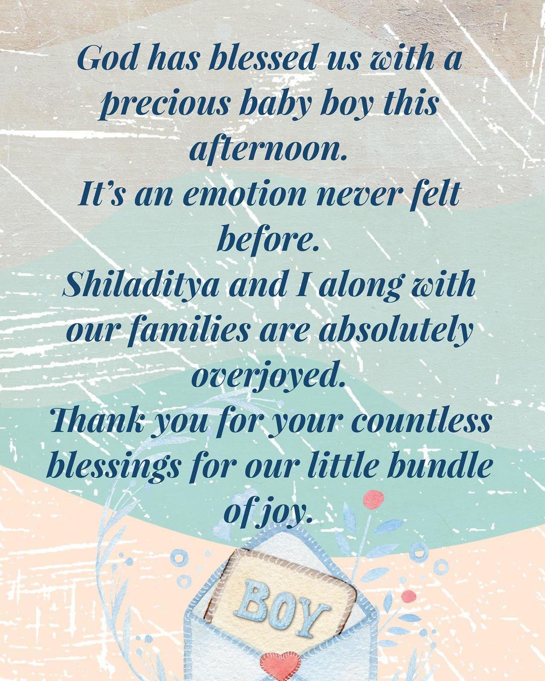 Shreya Ghoshal' note