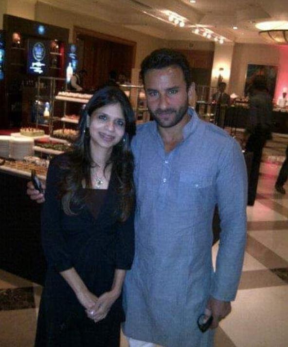 Saba Ali Khan With Brother Saif Ali Khan