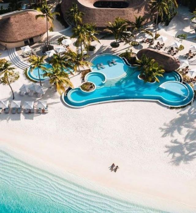 Maldives's Lavish Resort