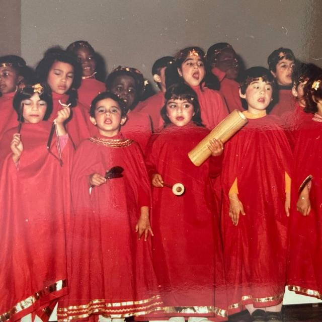 Soha Ali Khan School Days Photo