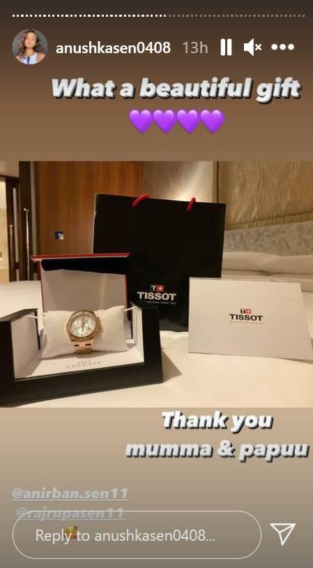 Anushka Sen Birthday Gift