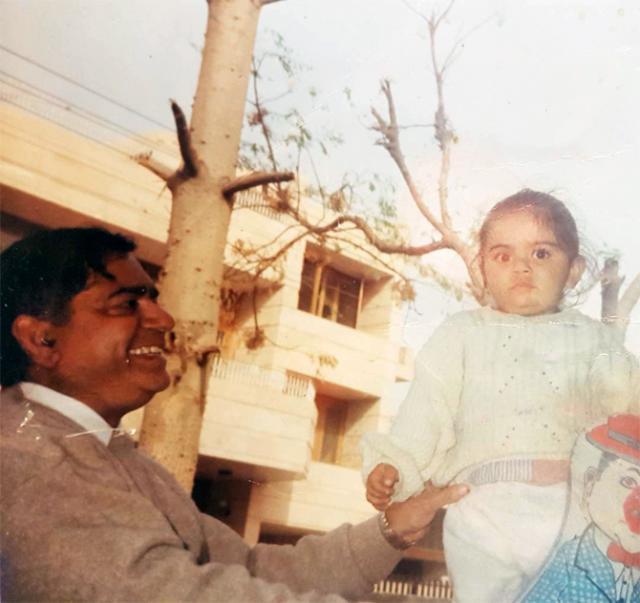 Virat Kohli With Father