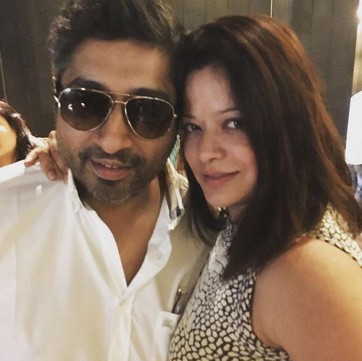 Arzoo Govitrikar With hubby Siddharth