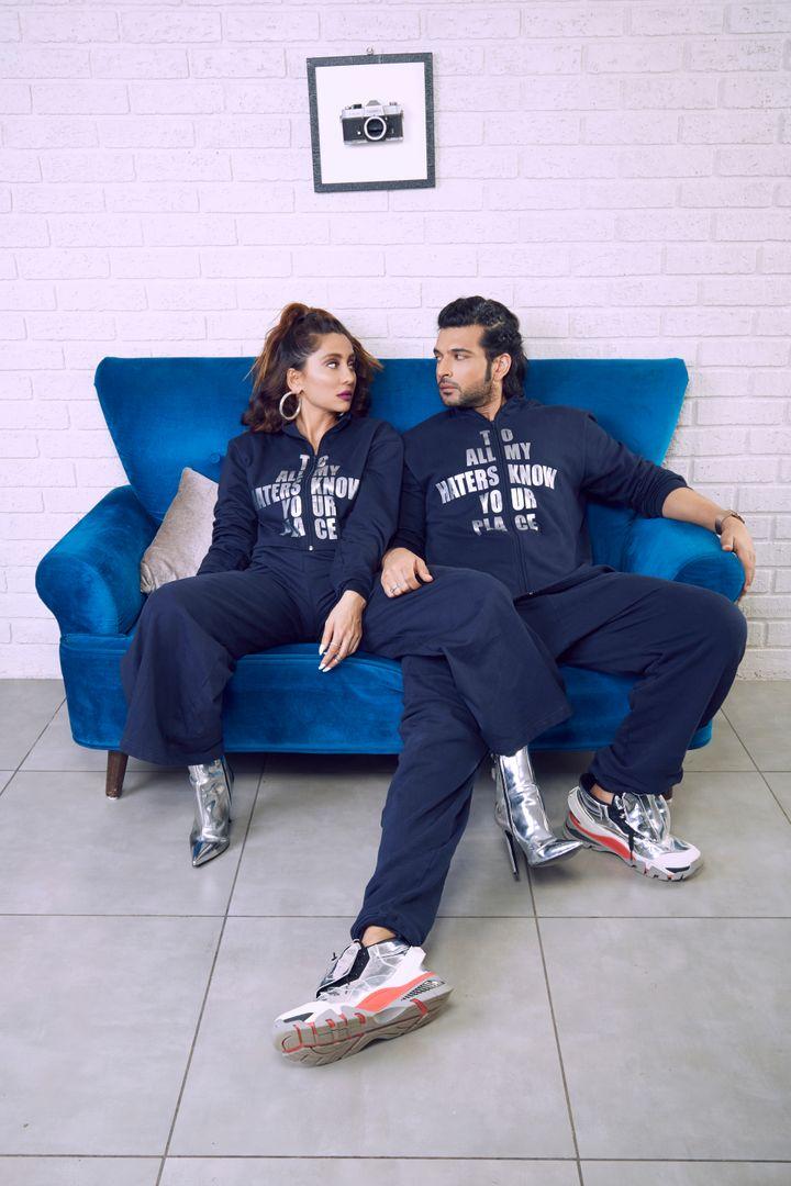 Anusha Dandekar With Ex BF Karan Kundrra