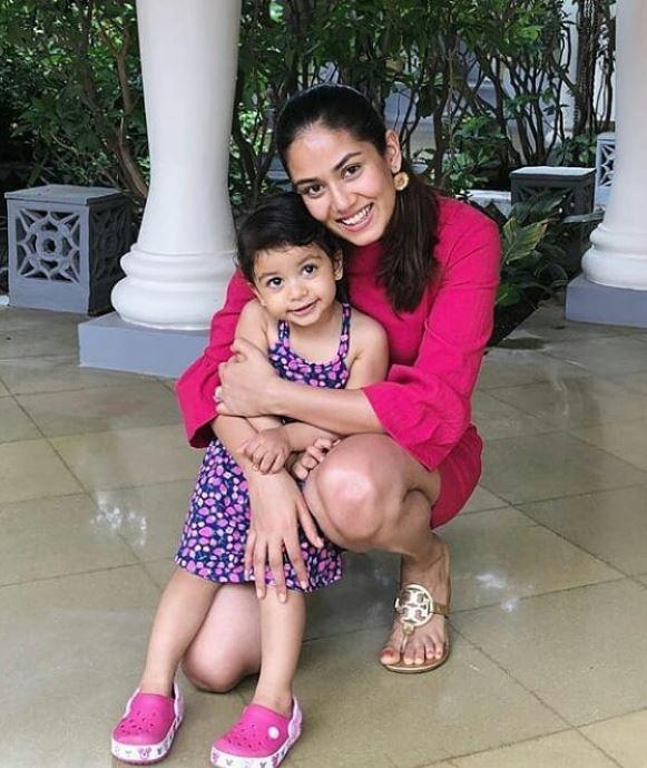 Mira Rajput With Her Daughter Misha