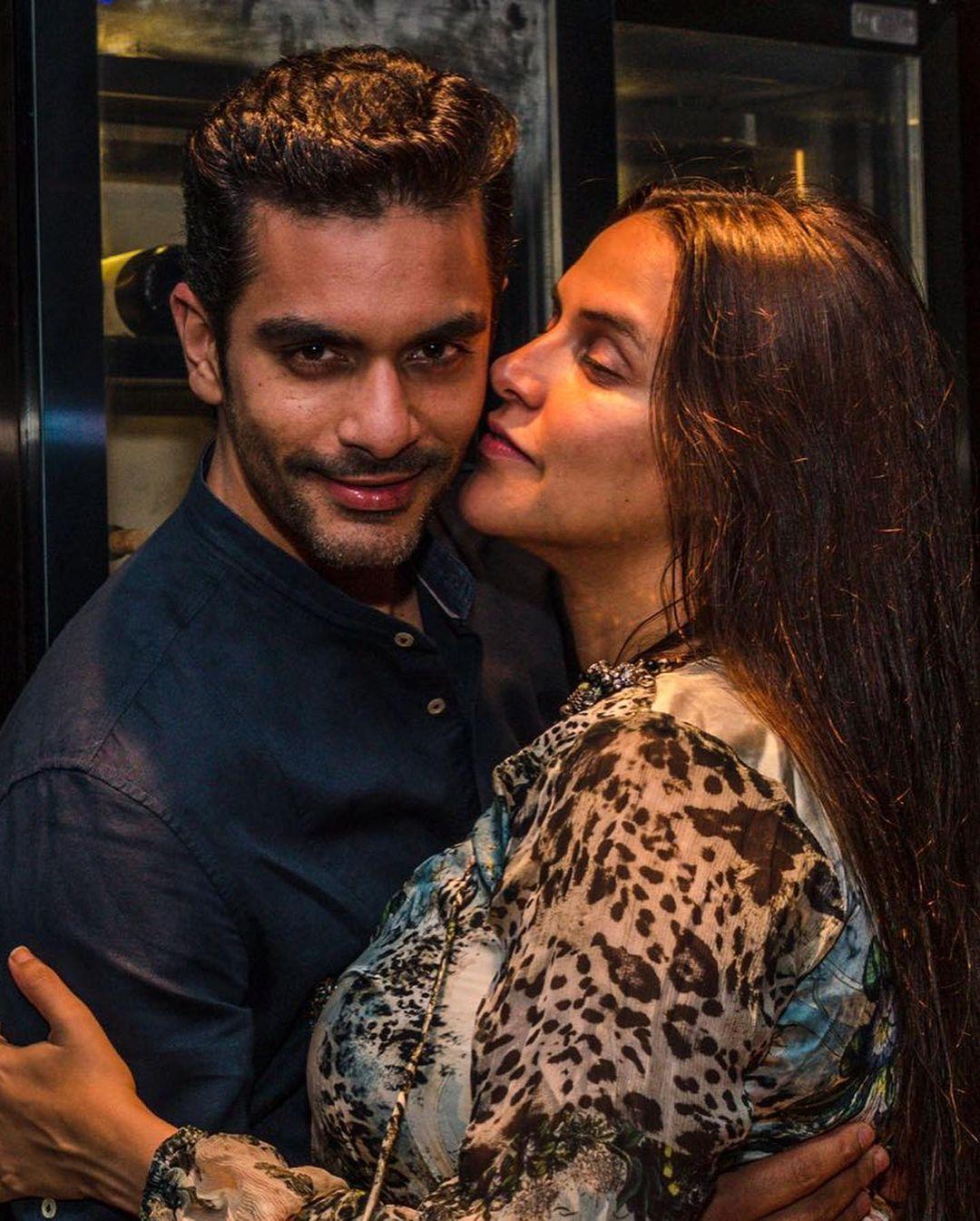 neaha with husband