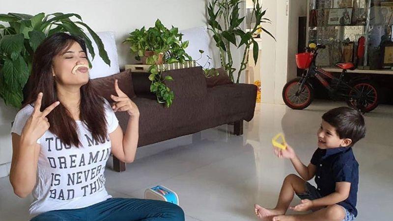 Shweta Tiwari Home