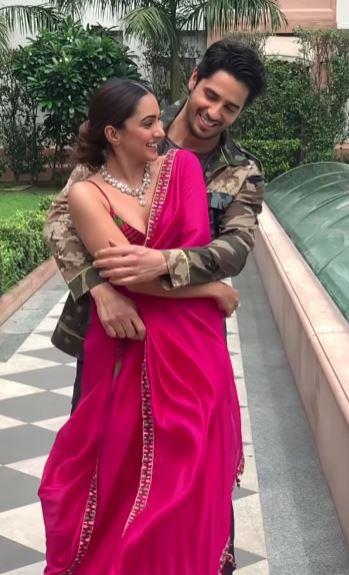 Sidharth Malhotra With Kiara Advani