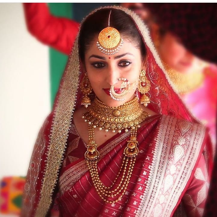 Yami Gautam's Wedding Look