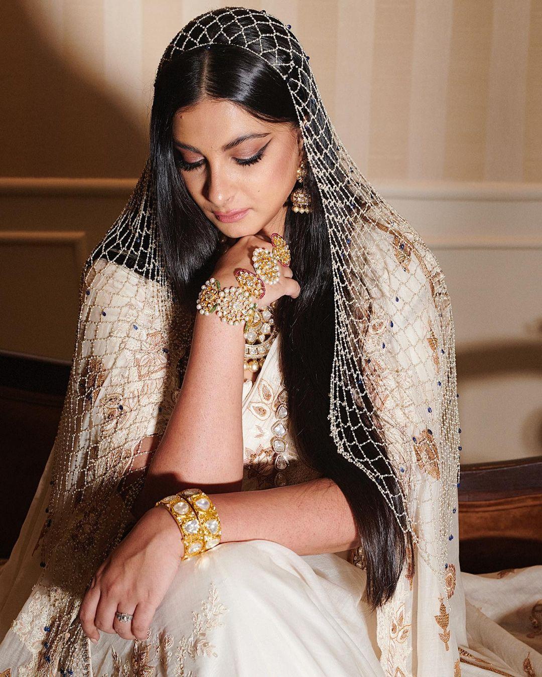 Rhea Kapoor's Wedding Look