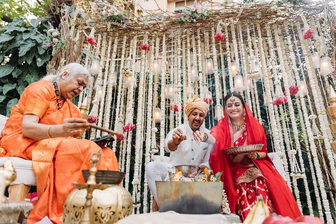 Dia Mirza' Wedding With Vaibhav Rekhi