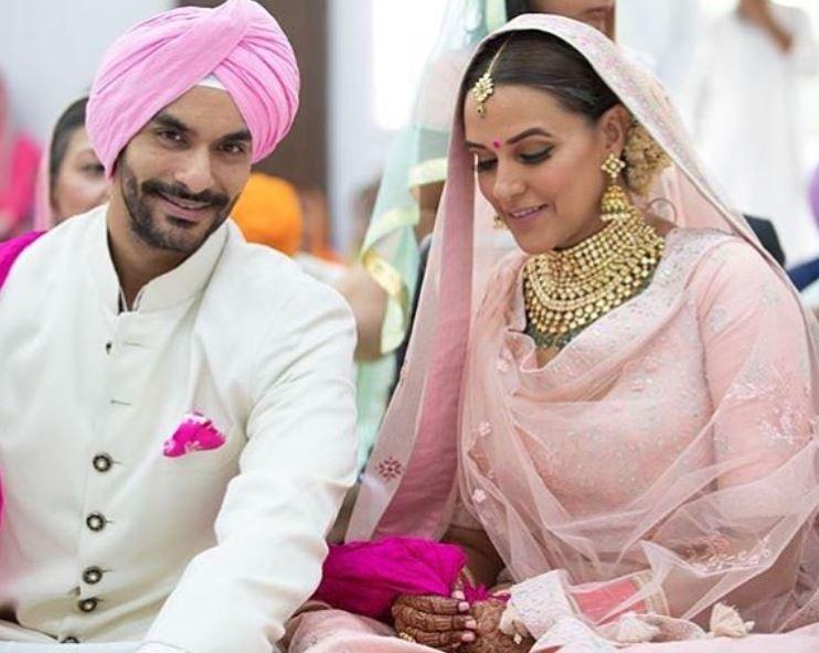 Neha Dhupia's Wedding With Angad Bedi