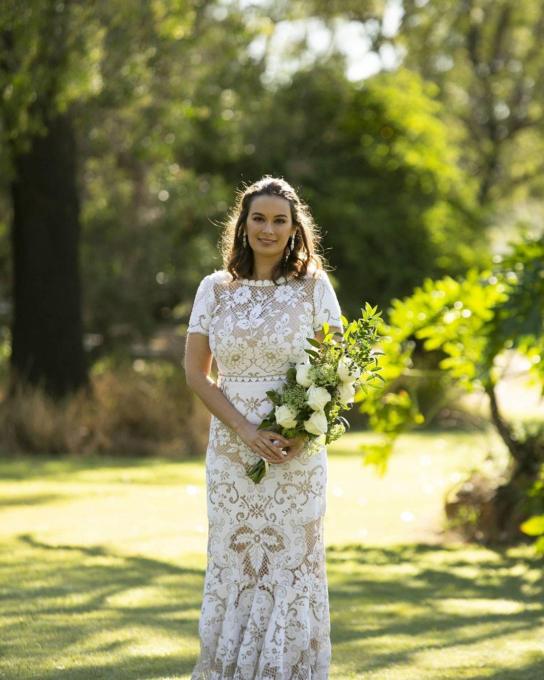 Evelyn Sharma' Wedding Look