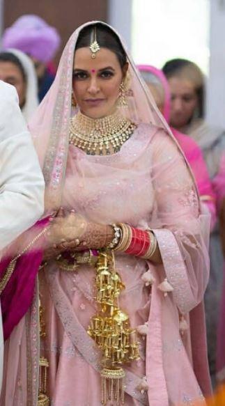 Neha Dhupia's Wedding Look